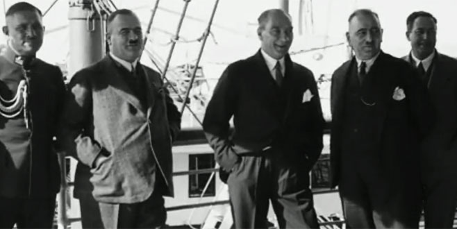 Atatürk'ün hiç yayınlanmamış görüntüleri ortaya çıktı