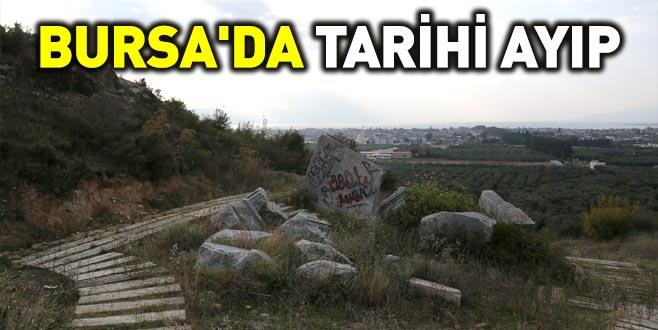 Bursa'da tarihi ayıp