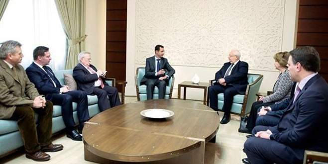 Esad'ın Fransız misafirleri