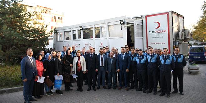 Belediye personeli Azra için kök hücre bağışında bulundu