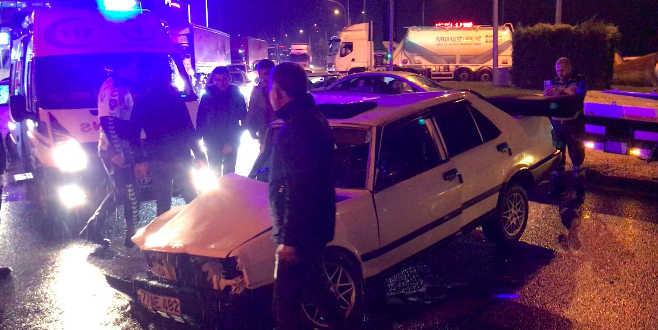 Bursa'da feci kazada can pazarı