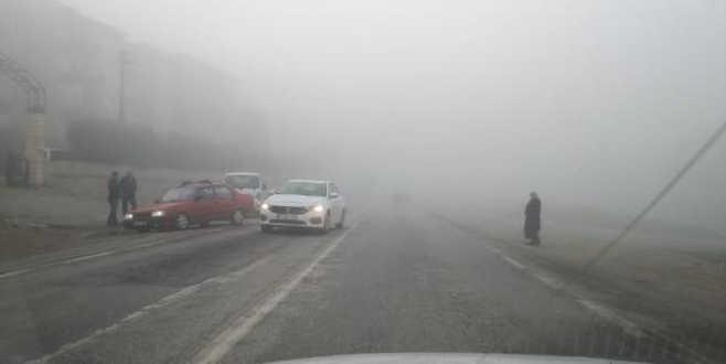 Bursa'da sis sürücülere zor anlar yaşattı