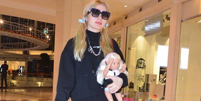 Aleyna'nın bebeği!