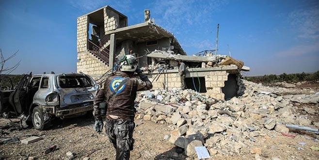 Rus savaş uçaklarından İdlib'e hava saldırısı
