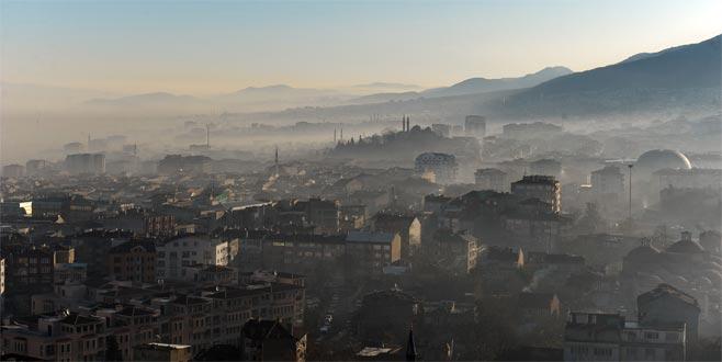 Bursa'nın havası temizlenemiyor