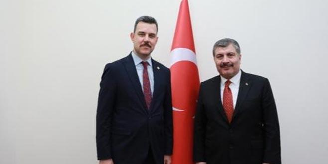 """'Bursa'daki sağlık yatırımlarına 3 Milyar TL"""""""