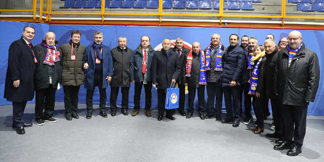 Başkanlar Andorra'da buluştu