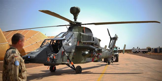 Orduda helikopter krizi