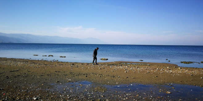 İznik Gölü'nü kuraklık vurdu