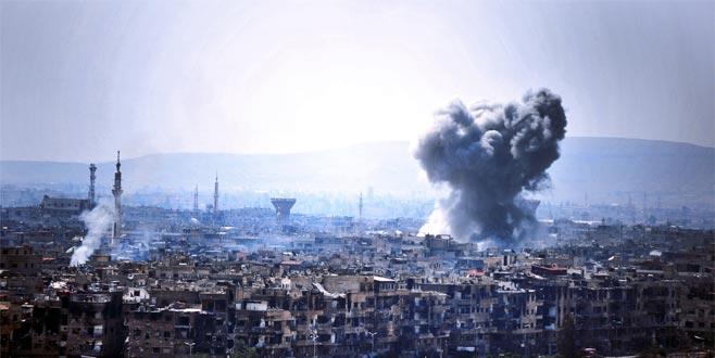 İsrail yine vurdu