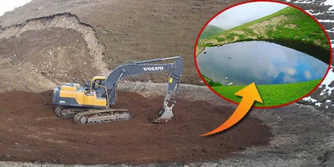 Dipsiz göl raporu: Esas define gölün kendisiydi
