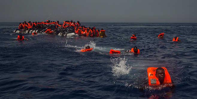 Göçmen botu battı: 67 ölü!
