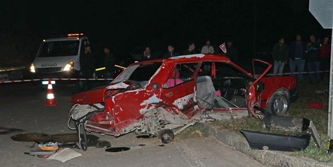 Sakarya'da feci kaza: İki kız kardeş hayatını kaybetti