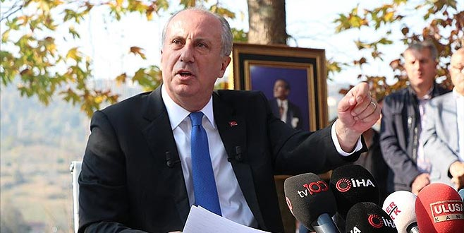 Muharrem İnce: Kılıçdaroğlu ismi biliyorsa açıklamalı