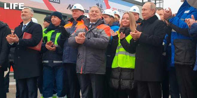 Dev projeyi Putin açtı