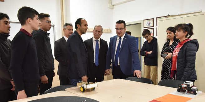 Başkan Kanar, öğrencilerle tecrübelerini paylaştı