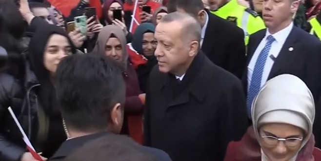 Cumhurbaşkanı Erdoğan NATO zirvesi için İngiltere'de