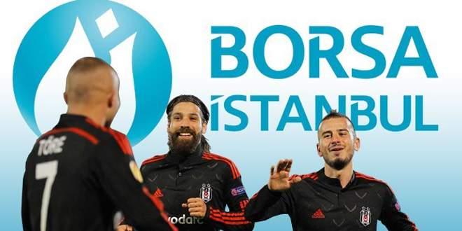 Beşiktaş hisseleri Liverpool zaferini kutluyor