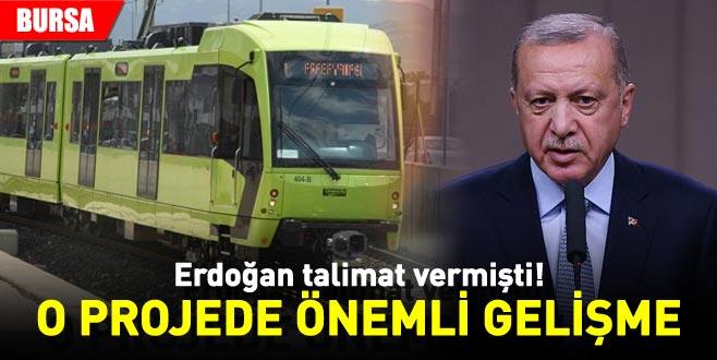 Erdoğan talimat vermişti! O projede önemli gelişme