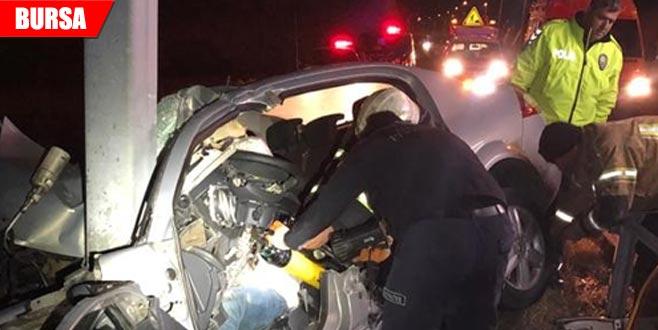 Korkunç kaza! Deniz astsubay trafik kazasında hayatını kaybetti