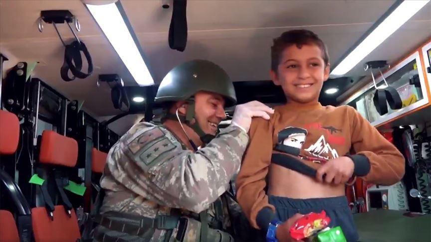 MSB'den 'Masumların umudu Mehmetçik' videosu