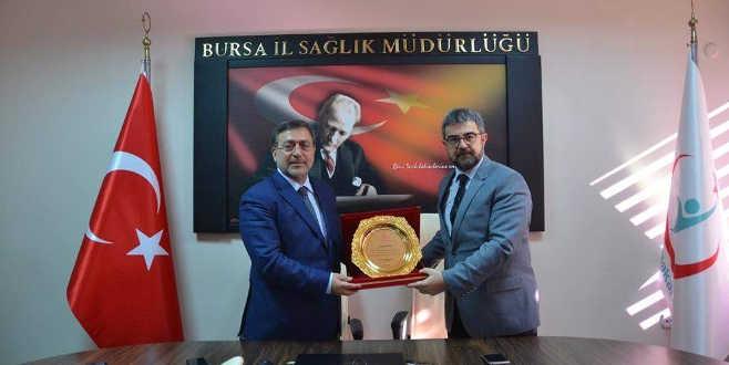 Bursa'nın yeni sağlık müdürü göreve başladı