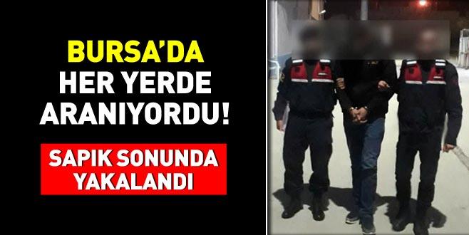 Bursa'da her yerde aranıyordu! Sapık sonunda yakalandı