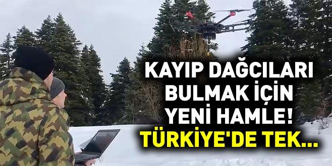 Kayıp dağcıları bulmak için yeni hamle! Türkiye'de tek...