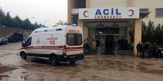 Şırnak'ta hain saldırı: 2 şehit, 7 yaralı