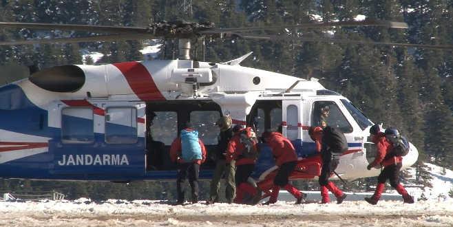Kayıp dağcılar için 40 kişilik özel ekip