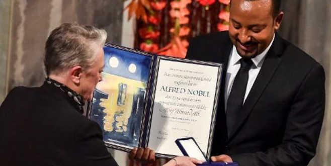 Ahmet Ali, NobelBarış Ödülü'nü aldı