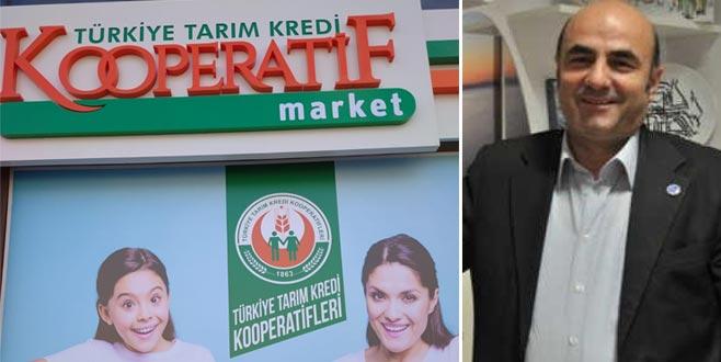 Bursa'ya 20 tarım market
