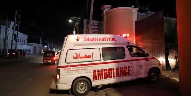 Somali'de otelesilahlı saldırı