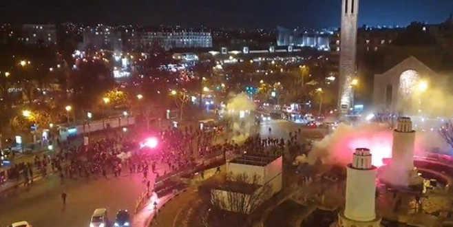 Paris'te gergin gece!