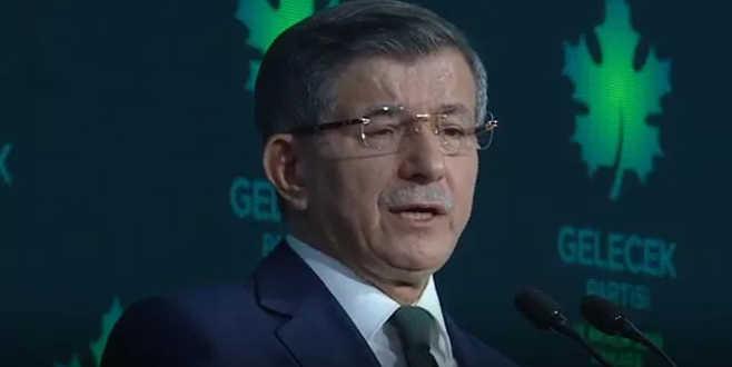 Ahmet Davutoğlu yeni partisini tanıttı
