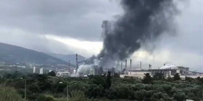 Hatay'da demir çelik fabrikasında patlama
