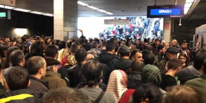 İstanbul metrosunda son durum! Açıklama geldi