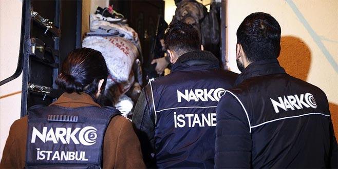 Uyuşturucu satıcılarına operasyon: 103 gözaltı