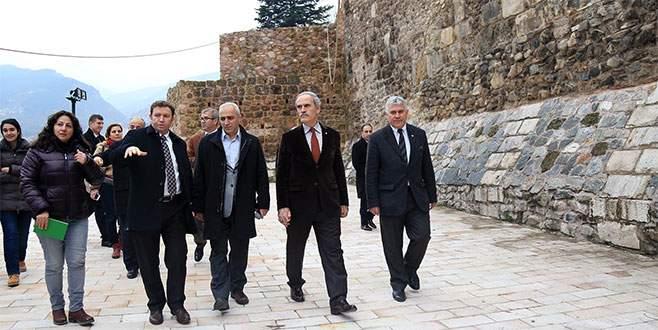 Bursa'nın 2300 yıllık surları artık sır değil