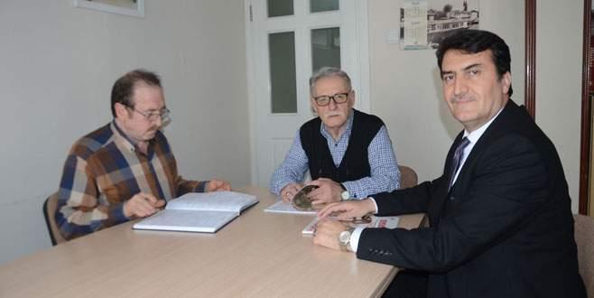 Dündar'dan Türk Parlamenter Birliği'ne ziyaret