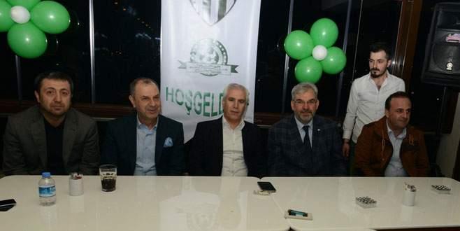 Başkan Bozbey'e Bursasporlu taraftarlardan sevgi seli