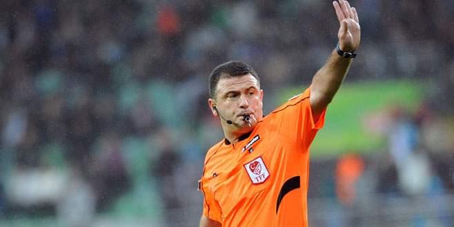 Bursaspor-Gençlerbirliği maçının hakemi belli oldu!