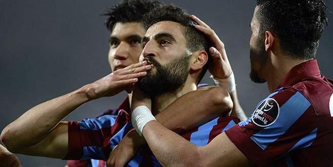 Trabzonspor kazanmasını bildi
