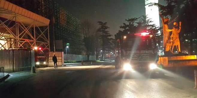 İstanbul Üniversitesi'nde yangın çıktı!