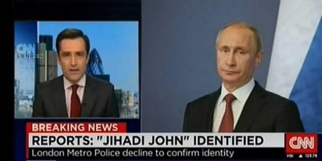 CNN, terörist yerine Putin'in fotoğrafını koyunca olanlar oldu