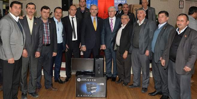 Büyükşehir'den muhtarlara teknoloji desteği