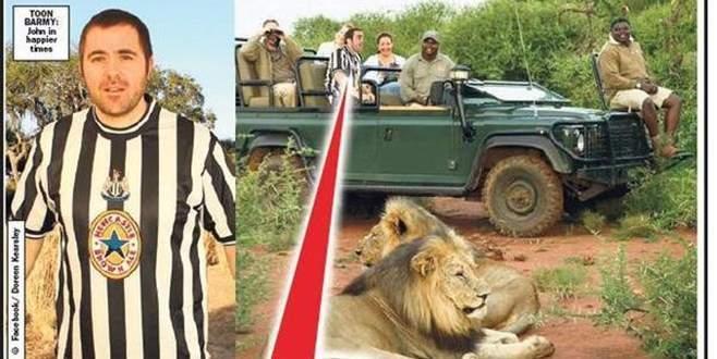 Formalı safari hayatına mal oldu