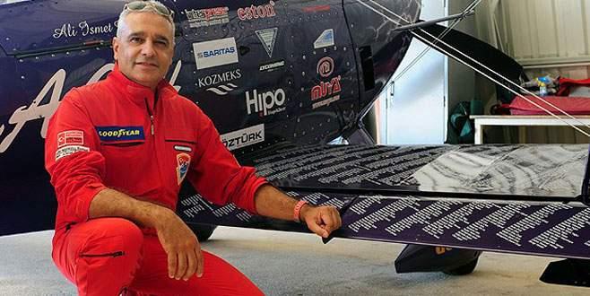 """Gökyüzünün Formula 1'i""nde tek Türk pilot"