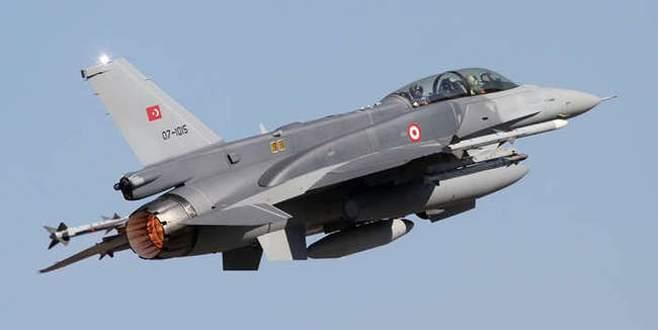 Türk jetleri IŞİD'e kilitlendi