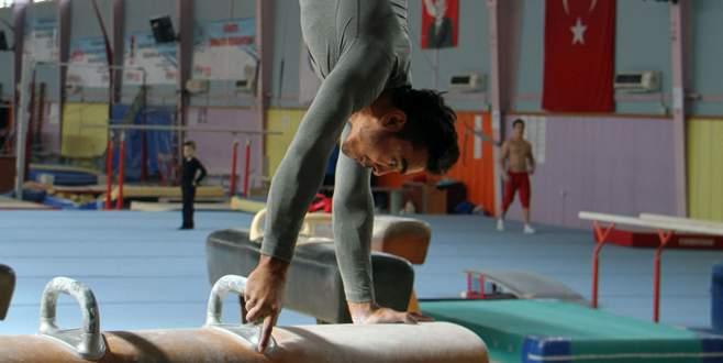 Cimnastikçi Arıcan'ın hedefi büyük